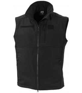 "Gilet soft shell, ""Allround"", noir"