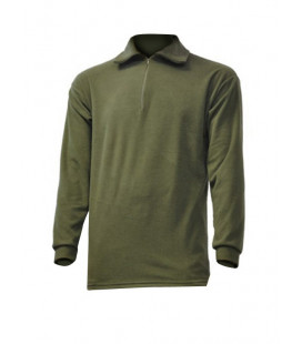 Pull-Chemise militaire F1 tout Polaire Vert