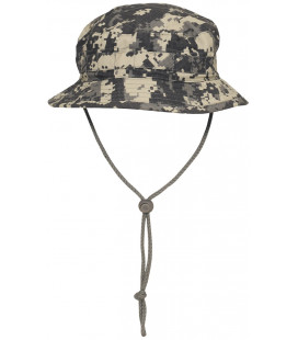 Chapeau de brousse GB SF, Rip Stop, bande menton, AT-digital - Surplus militaire