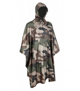 Poncho Militaire Ultra Light Ripstop Cam CE