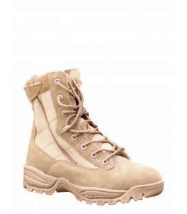 Chaussures militaire Tactiques 2 zip coyote