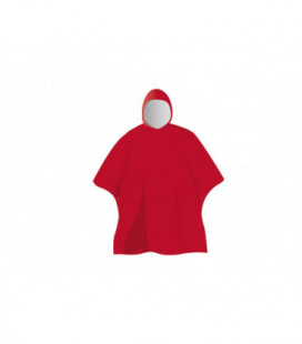 Poncho imperméable 0.18mm Rouge