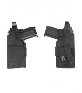 Holster noir, attaches Molles - Surplus militaire