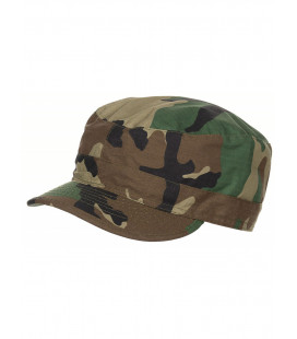 Casquette US Army BDU Rip Stop camouflage woodland