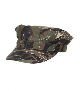 Casquette US marine Rip Stop camouflage bande tigre renfort