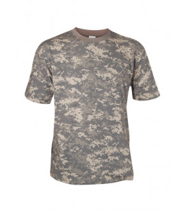 Tee-shirt Camouflage Digital AT militaire - Surplus militaire