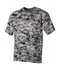 T-shirt Camouflage Digital Urbain US militaire