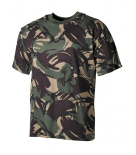 T-shirt camouflage DPM militaire