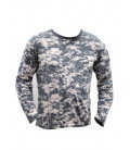 T-shirt manches longues camouflage Digital AT