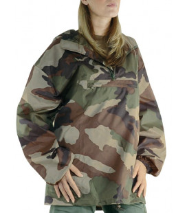 Imperméable repliable imprimé camouflage Centre-Europe - Surplus militaire