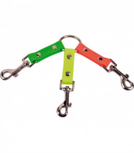 Collier tripleur 150 mm orange vert