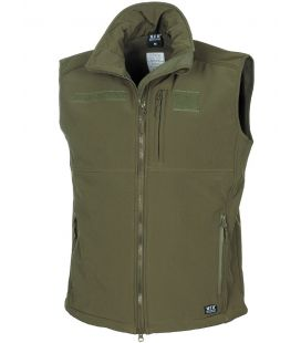 "Gilet soft shell, ""Allround"", noir - Surplus militaire"