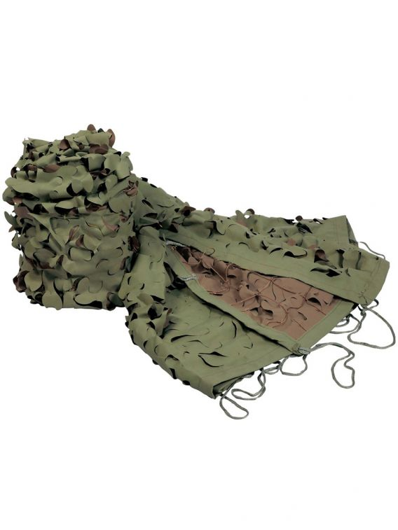 FILET CAMO TOUNDRA 3x6m KAKI MARRON