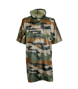 Poncho transformable en bâche camouflage CE