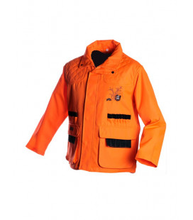 Veste de traque pour battue orange uni - Surplus militaire