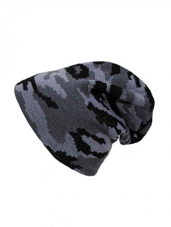 Bonnet camouflage gris digital AT type militaire - Surplus militaire