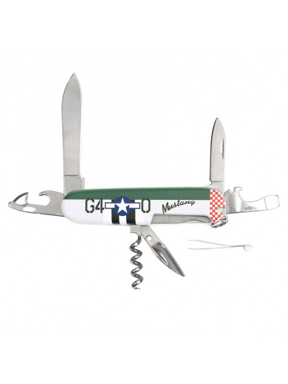 Couteau de poche P-51 Mustang Fostex WWII Series