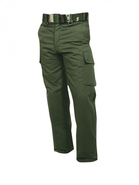 pantalon treillis militaire f1 vert kaki avec doublure surplus militaire. Black Bedroom Furniture Sets. Home Design Ideas