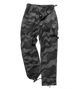 Pantalon treillis homme US BDU flexible camouflage Splinter night