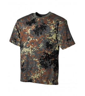 Tee-shirt Camouflage Flecktarn BW militaire