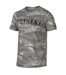 Tee-shirt Oakley camouflage gris