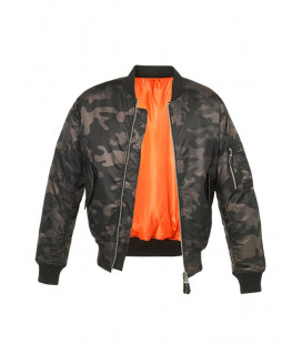 Bombers aviateur homme MA1 camouflage Nuit