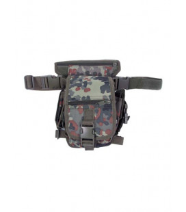 hip bag, BW Flecktarn camo fixation ceinture - Surplus militaire