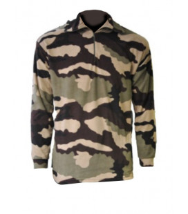 Chemise F1 tout Polaire camouflage