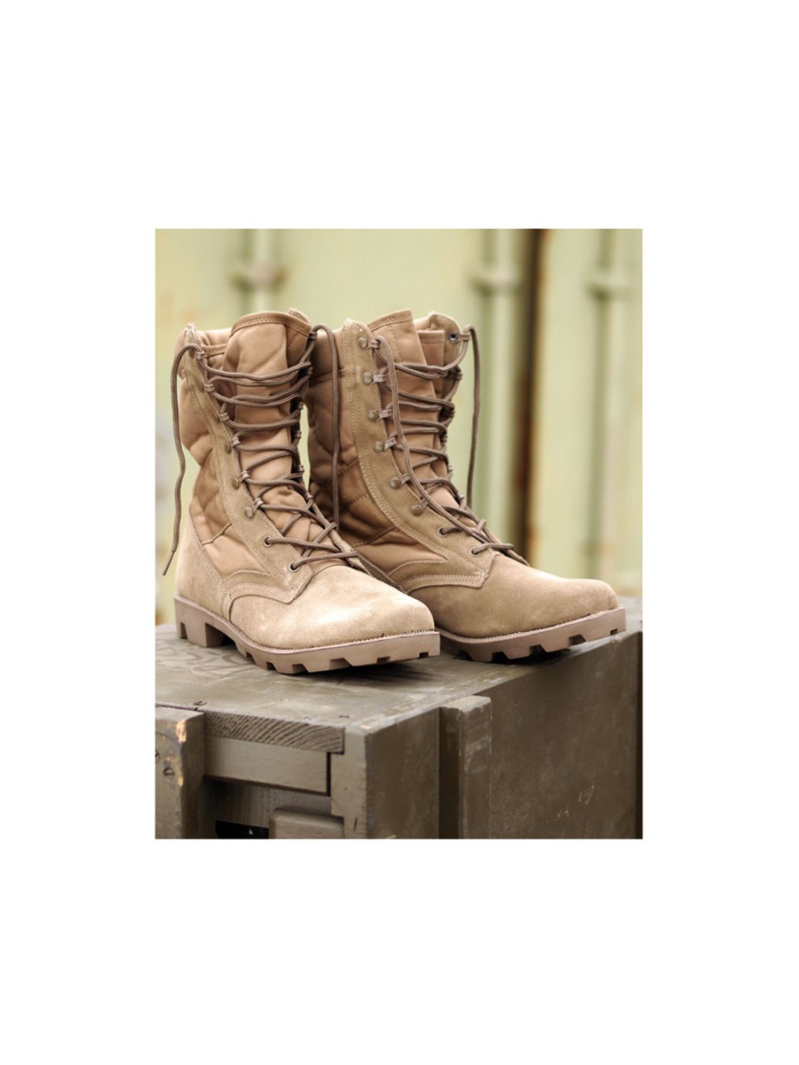 chaussures montantes us cordura jungle coyote pas cher surplus militaire. Black Bedroom Furniture Sets. Home Design Ideas