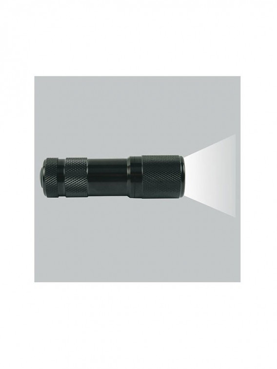 Lampe torche tactical 9 Led noire - Surplus militaire