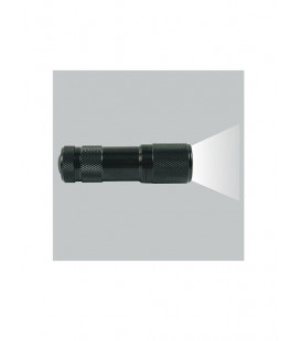 Lampe torche tactical 9 Led noire