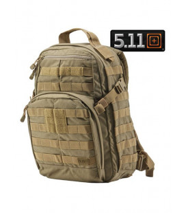 Sac à dos Rush 12 Tactical 5.11 beige 20L - Surplus militaire