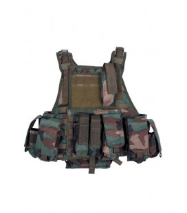 Gilet tactique ranger woodland sac hydratation - Surplus militaire