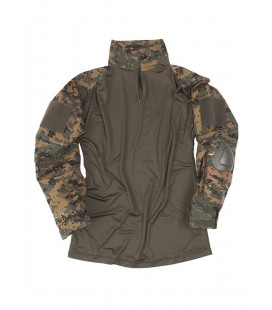 Chemise Tactique Warrior Digital woodland - Surplus militaire