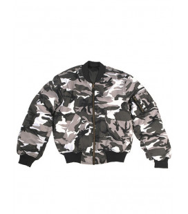 Bombers homme Militaire MA1® T/C Urbain Gris homme