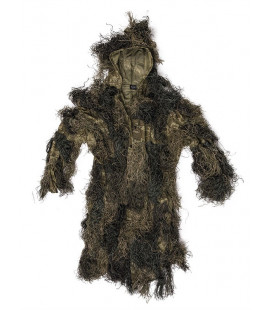 Parka Ghillie Suit Anti Feu Woodland - Surplus militaire
