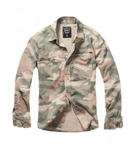 Chemise Brandit Josh Light Woodland