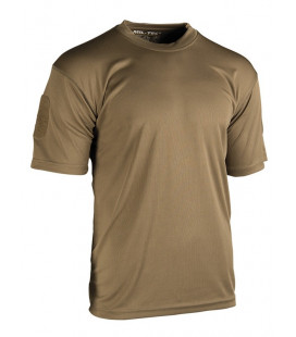 T-shirt Tactique QUICKDRY Dark Coyote - Surplus militaire