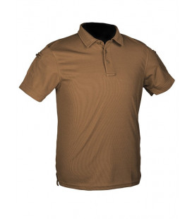 Polo Tactique QUICKDRY Dark Coyote - Surplus militaire