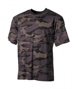 Tee-shirt US Combat Camouflage