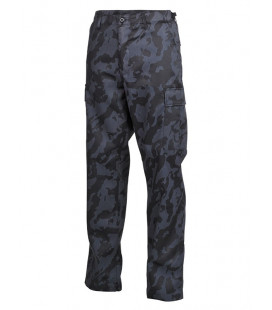 Pantalon US BDU, Type tend camouflage Nuit - Surplus militaire