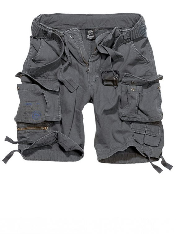 Short military Brandit Savage Anthracite - Surplus militaire