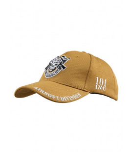 Casquette 101 INC Airsoft Division Coyote - Surplus militaire