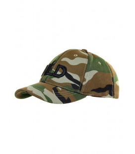 Casquette Baseball NLD extensible Woodland - Surplus militaire