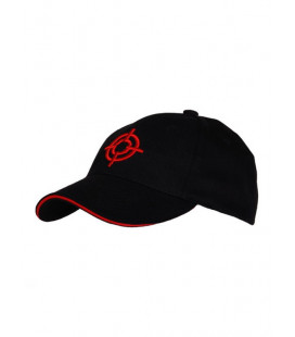 Casquette Baseball Cible Rouge