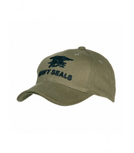 Casquette Baseball Navy Seals Verte - Surplus militaire