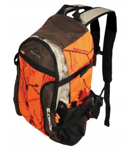 Sac à dos Somlys camo orange fire luxe