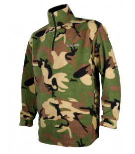 Sweat polaire Somlys camouflage TREELAND Chasse