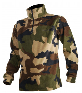 Sweat polaire Somlys camouflage CE TREELAND Chasse