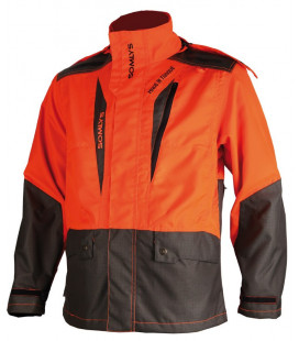 453N - Veste de traque orange M.I.T - Surplus militaire